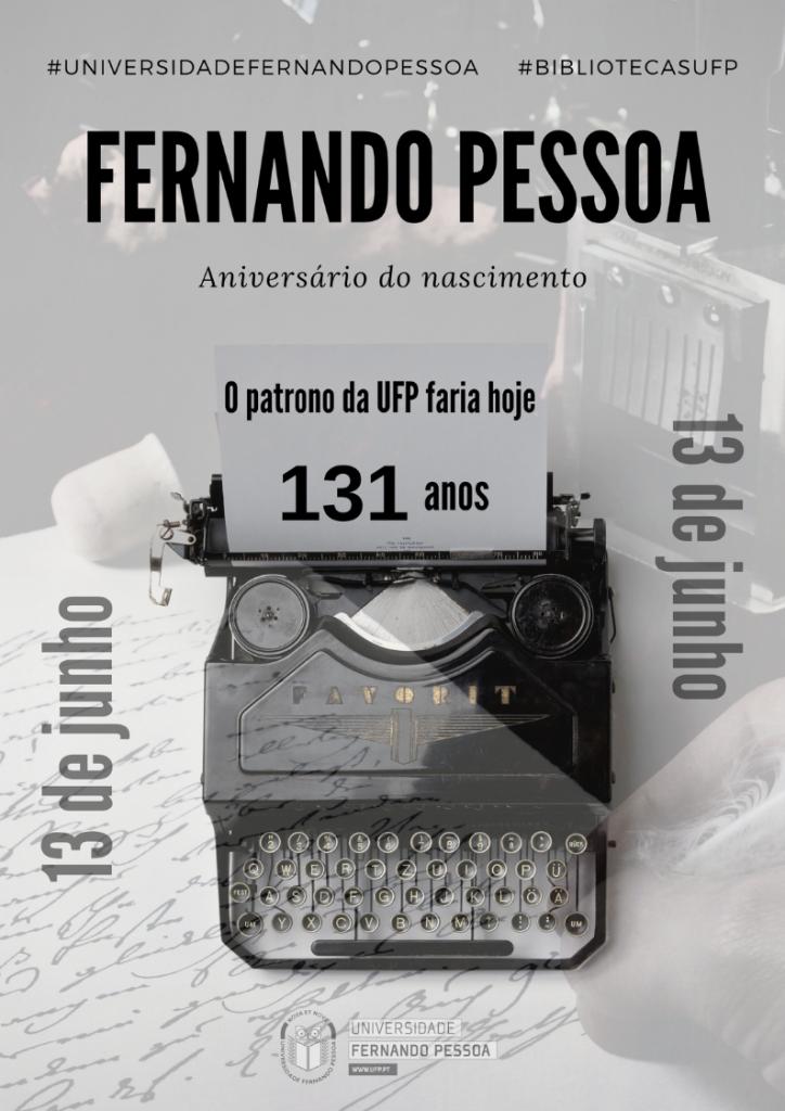 131 anos Fernando Pessoa