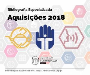Aquisiçoes 2018 -Bibliografia especializada