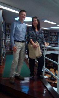 Arrival_Elmar, Luisa_Biblioteca Fernando Pessoa - Cópia