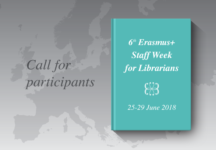 Call_6th Erasmus+ Staff Week for Librarians