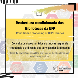 Reabertura condicionada das Bibliotecas UFP